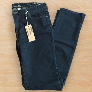 NWT Eddie Bauer Truly Straight Leg Jeans